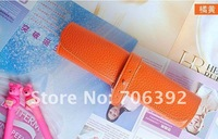 Сумка для канцелярии New Cute Candy Color Roll Storage Bag/Leather Pencil Case/Pen Bag 1pcs/lot