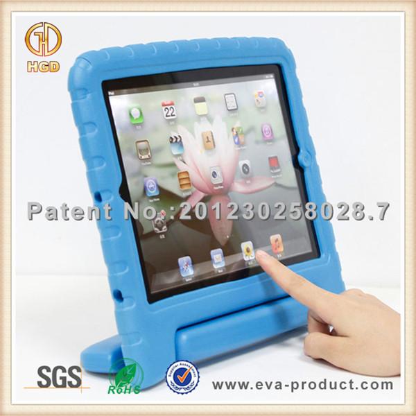 Kids EVA Foam Handle Shockproof Stand Case Cover For iPad Mini iPad 2 3 4