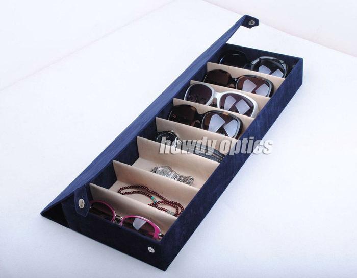 Eyeglass Frame Storage Trays : 8B Quality Eyeglass Eyewear Sunglasses Storage box Case ...