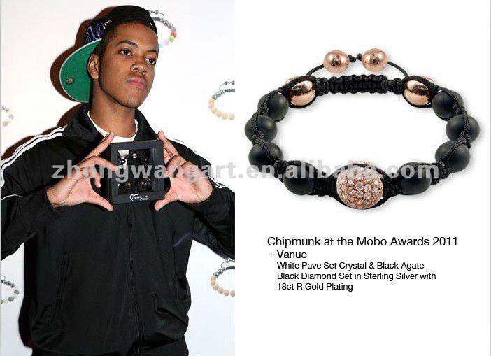 Newest fashion significado de la pulsera del shamballa wholesale