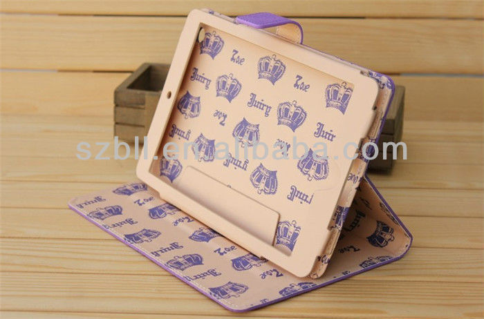 Mini PU Leather Case for Ipad Case with Juice Picture