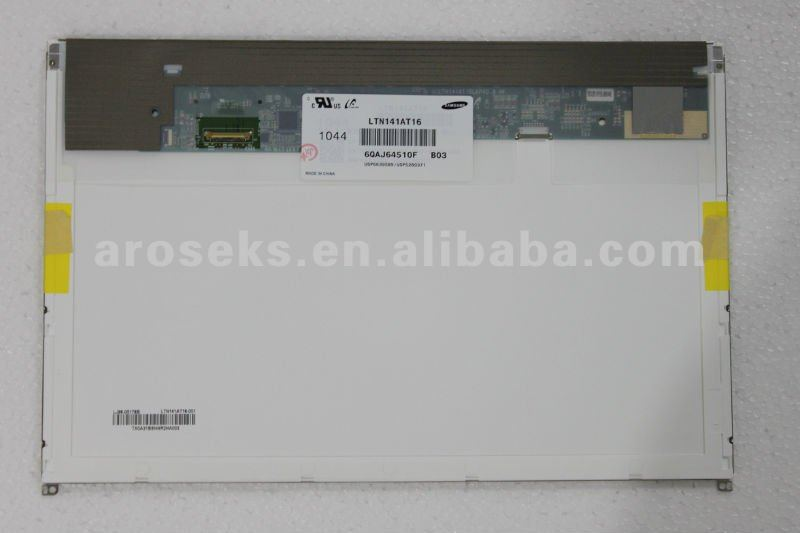 1280X800 Glossy Laptop LCD Screen LTN141AT16