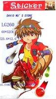 Free shipping, 60*32cm, wall stickers , pixar car cartoon Stickers,Mickey ,ben boy, thomas train,SHC068, wholesale 20pcs/lot