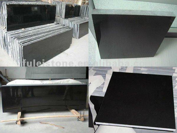 Poli shanxi noir granite plancher carrelage bon prix for Carrelage a bon prix