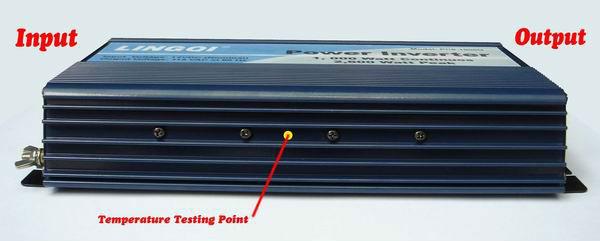 frequency converter 60 to 50hz 220v inverter Solar panel inverter 1000w