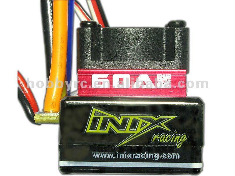 INIX RACING 60A ESC SENSORED SENSORLESS BRUSHLESS MOTOR CONTROLLER LIPO RC CAR