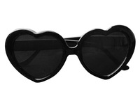 Женские солнцезащитные очки Super Cute Heart Shaped Sunglasses Lovely Fashion Eyewear, Black