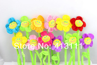 10PCS/lot DIY Wedding gift 33cm household toys multifunctional artificial flower derlook cloth cartoon curtain buckle popular