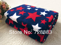 High quality~Big House Dual Coral Fleece Bedding Home Double Villus Blanket Casual Picnic Blankets Carpet.Free shipping!