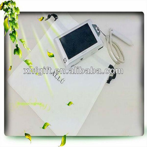 mini white cotton drawstring package bag