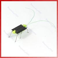 Детская игрушка с питанием от солнечной батареи Solar Power Robot Insect Bug Locust Grasshopper Toy Fun