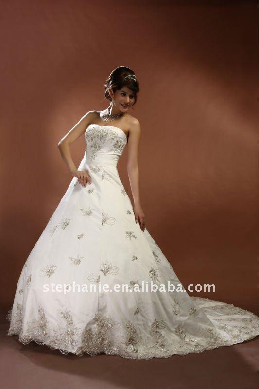 Guangzhou Stephanie Arabic Wedding Dresses 2011