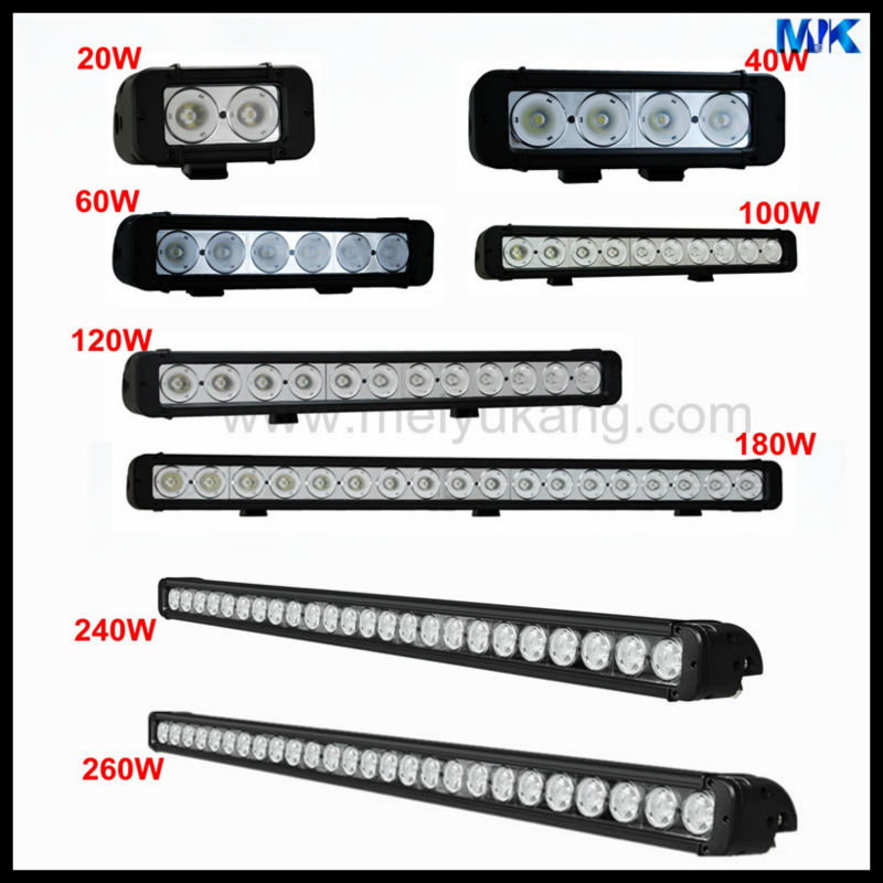 IP67 1720LM 9-48v 20W Pencil or Flood beam led bar light with Cool White