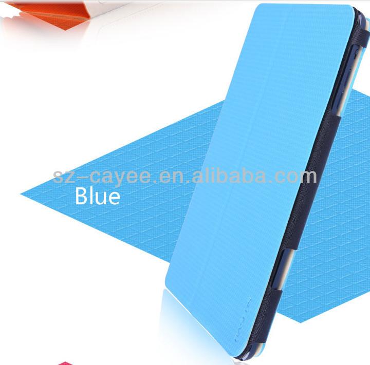 2014 new fashionable book leather case for ipad mini,for tablet PC mini iPad case