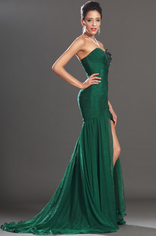 Emerald Green Bridesmaid Dresses 2014 Dark Green
