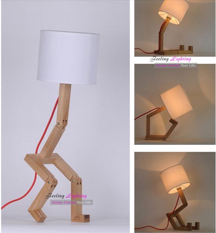 diy wooden desk lamp 2