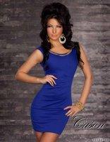 Платья Кейсон n082-синим