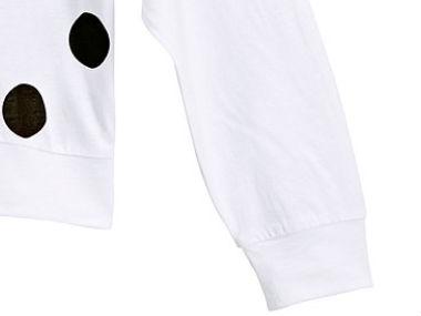 Custom Printing Women White Spot Led Tshirt in Bulk Supplier Guangzhou