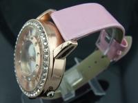 Наручные часы Fashion women watch stell dial diamond wristwatch gold Background GH05
