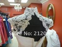 "Свадебная накидка Best Seller, 2012 Lea Ann Belter French Alencon Lace ""Iris"" Jacket"