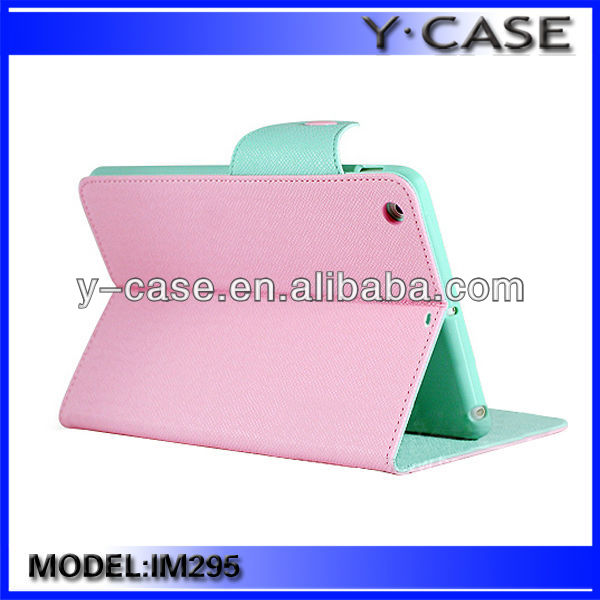 Folio leather case for iPad Mini Retina / Leather flip case for iPad Mini Retina / Stand leather case for iPad Mini Retina