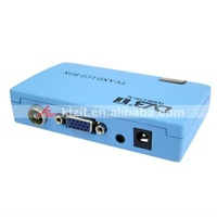 Compact Digital TV Box DVB-T Receiver with AV/VGA