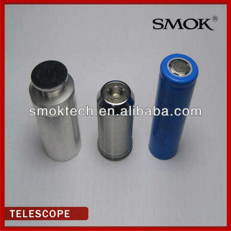 2013 smok Smoktech rebuildableTelescope E-cig Mod telescopic e-cig tube mod