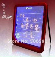 Доска для объявлений 5 PCS Lots LED Writing Message Board Note Wordpad