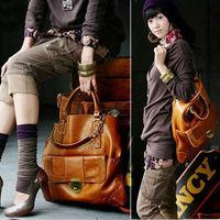 Маленькая сумочка BG-0023 HOT Large capacity Pu Vintage handbag