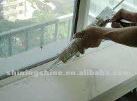 transparent glass glue of Acid silicon sealant