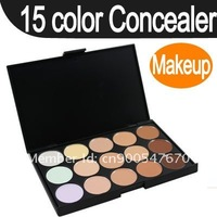 Pro 15 colors makeup Eyeshadow Camouflage Facial Concealer Neutral Palette Cream buy online from china