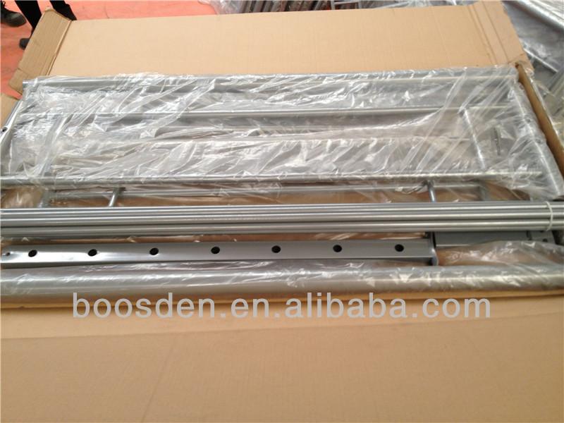 Vierkante buis metalen stapelbed dubbel stapelbed goedkope stapelbedden opslag bed bsd 453197 - Meubilair storage zwart ...