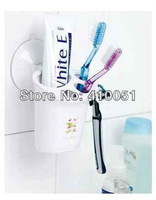 Strong suction toothbrush tube suction toothbrush holder wash wall