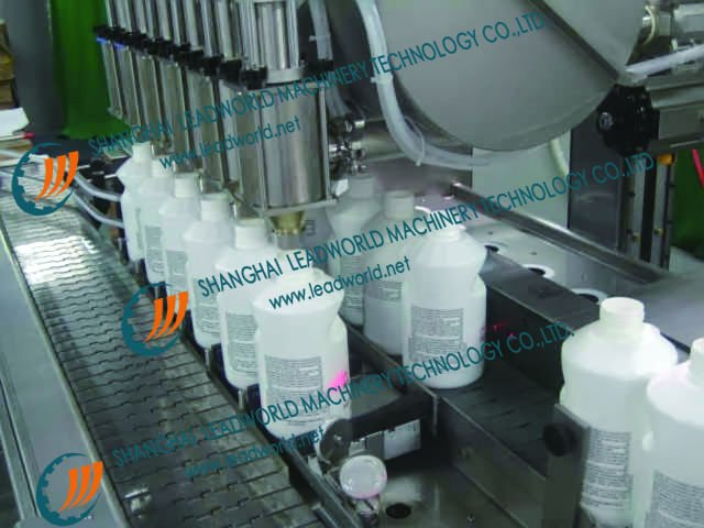 Automatic Weighing and filling production line for Big barrel filling