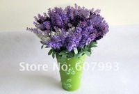Искусственные цветы для дома Christmas artificial silk Lavender for house decoration, silk flowers, wedding flowers, artificial flowers