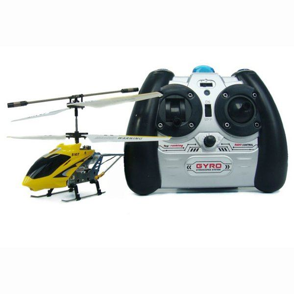 HOT SALE!! Super S107 3CH Mini Remote Control Helicopter Model