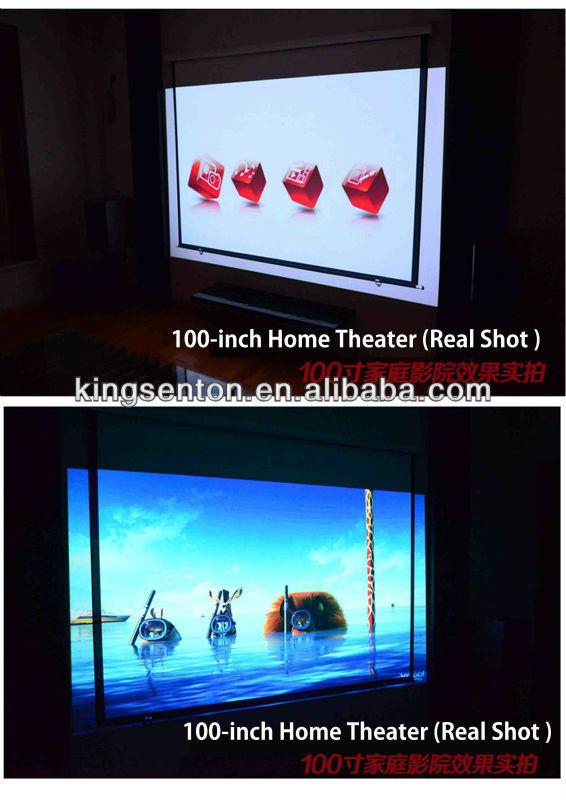 ultra short throw projector