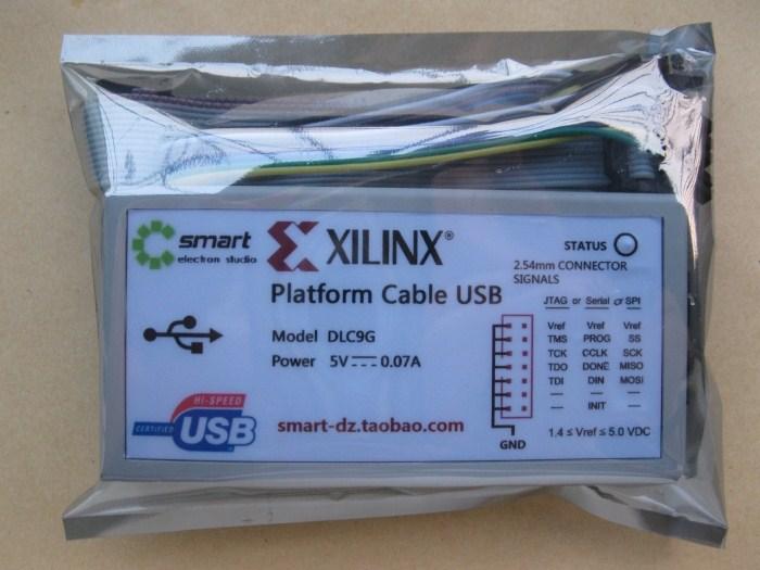 xilinx платформа кабель usb