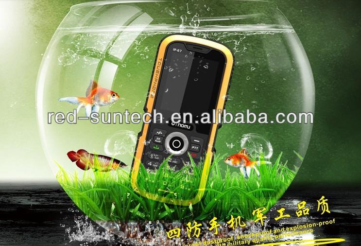 Chinese Original Brand Outdoor Unlocked cell phone Real IP67 ShockProof DustProof waterproof mobile phone