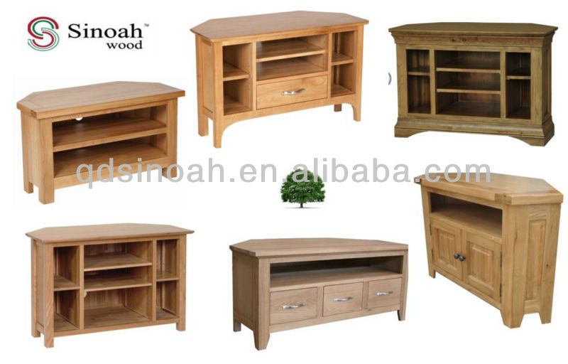 2 porte coin meuble tv tv unit meuble tv en bois. Black Bedroom Furniture Sets. Home Design Ideas
