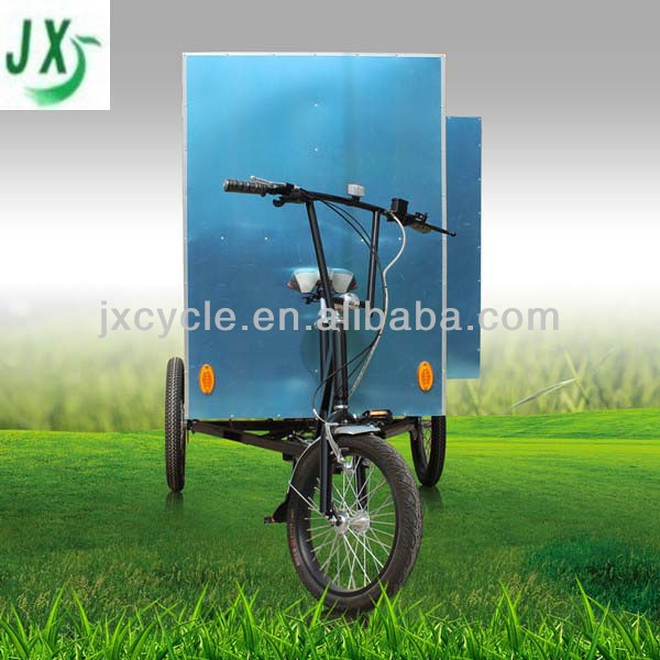 high quality van cargo tricycle for sale