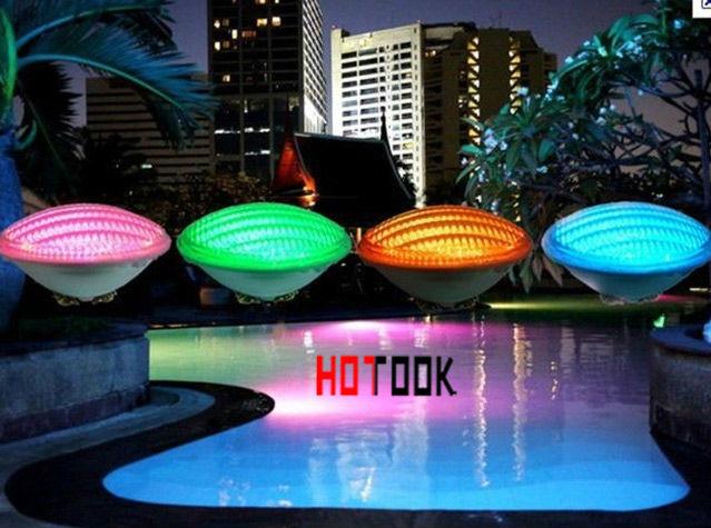 Led par56 pool light 36w 12v rgb ip68 12led led swimming for Ampoule piscine par56
