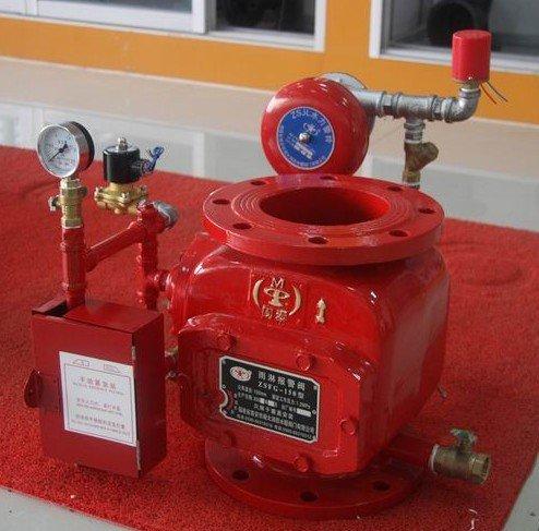 Fire sprinkler alarm valve