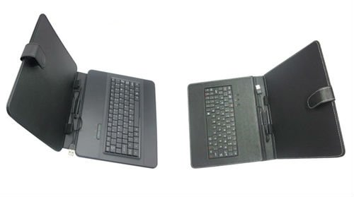 Cheap 10.1 tablet leather case with keyboard