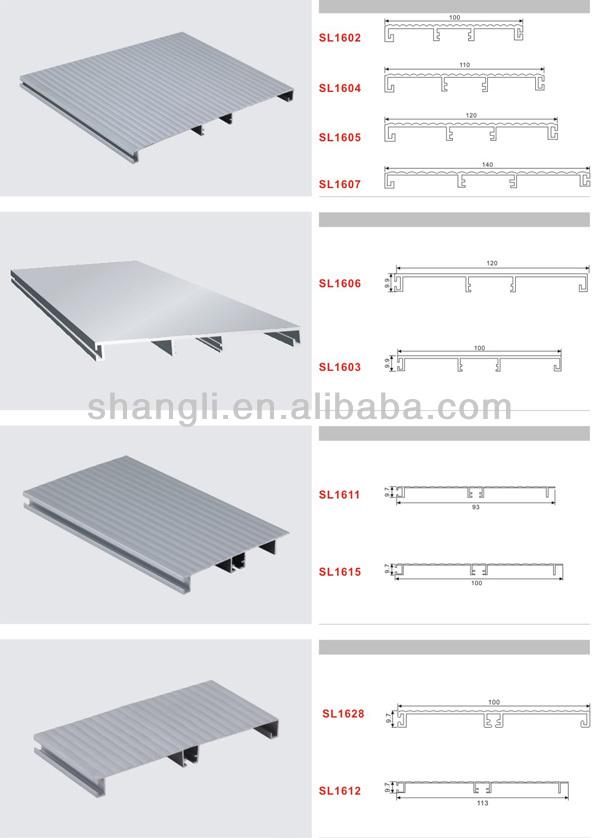 de aluminio perfil de zu00f3calo para mueble de cocina-Pisos Accesorios ...