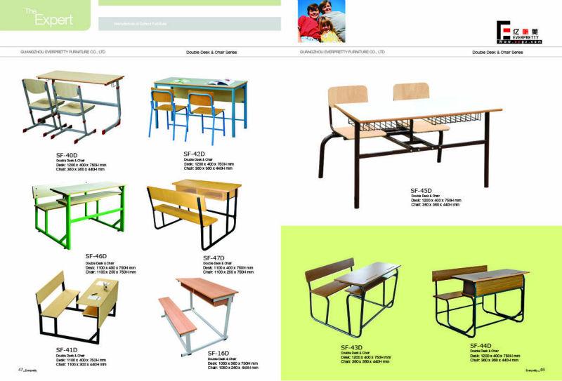 used combo school desk 2