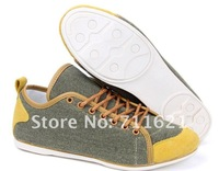 Мужские кроссовки 2012 HOT SELLING 3 colors Men's casual shoes Canvas Sneakers Canvas Shoes for Men sizE:39-44