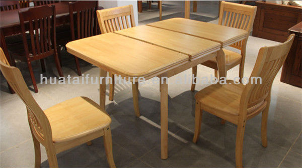 Home furniture folding kitchen sets dining room furniture - Table a manger pliable ...