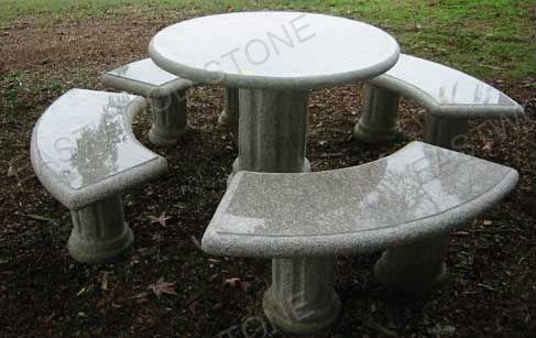 Mesa de centro do granito granito mesa de caf produtos for Bancos de granito para jardin