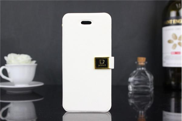 Luxury D Word Buckle Flip Stand wallet pu leather case for iphone 5c